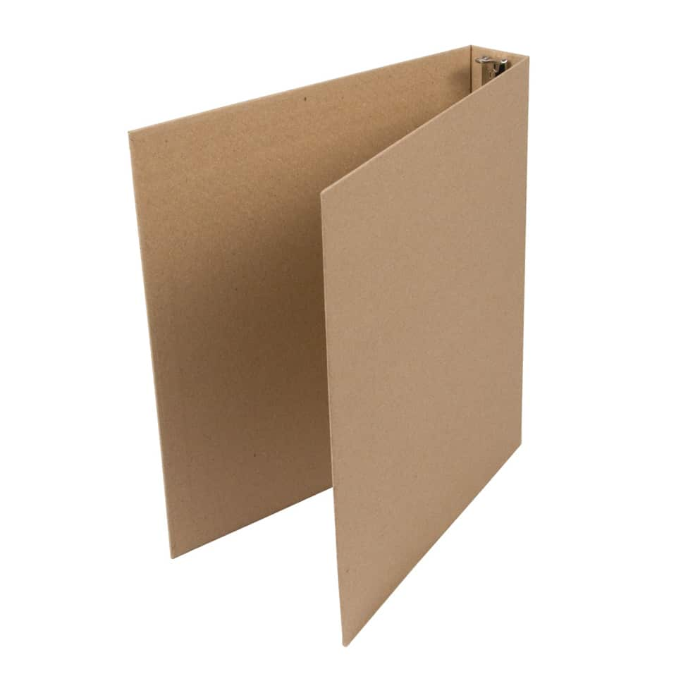 Kraft Turned Edge Eco-Friendly Binder